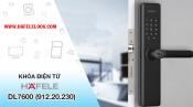 Hướng dẫn sử dụng khóa điện tử Hafele Smart Lock DL7600