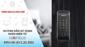 Hướng dẫn sử dụng khóa điện tử Hafele Smart Lock ER5100