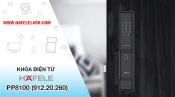 Hướng dẫn sử dụng khóa điện tử Hafele Smart Lock PP8100