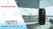 Hướng dẫn sử dụng, lắp đặt khóa điện tử cửa kính Hafele ER4400 TCR