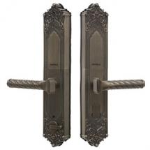 Khóa vân tay Hafele EL10K phong cách cổ điển lắp đặt cho cửa biệt thự