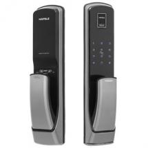 Khóa vân tay Hafele EL9500 thương hiệu Đức công nghệ tay nắm Pusch Pull hiện đại và an toàn nhất